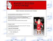 Tablet Preview of karhutunturi.net